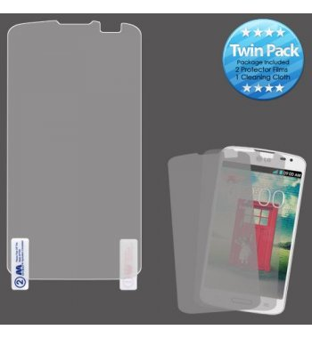 LG F70 Screen Protector Twin Pack