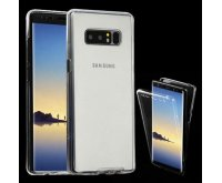 Samsung Galaxy Note 8 T-Clear Full-Body Candy Skin Covers (Front+Back)