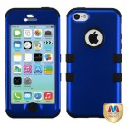 Apple iPhone 5c Titanium Dark Blue/Black Hybrid Phone Protector Cover