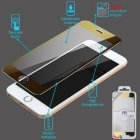 Apple iPhone 6 Plus Electroplating Tempered Glass Screen Protector/Gold(2.5D)