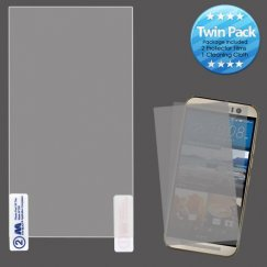 HTC One M9 Screen Protector Twin Pack