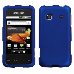 Samsung Galaxy Prevail Titanium Solid Dark Blue Case