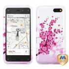 Amazon Amazon Fire Phone Spring Flowers/Solid White Hybrid Case