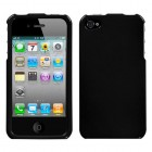 Apple iPhone 4/4s Solid Black Case