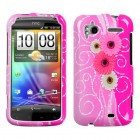 HTC Sensation 4G Brilliant Flowers Phone Protector Cover