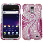 Samsung Galaxy S2 Skyrocket Phoenix Tail Diamante Case