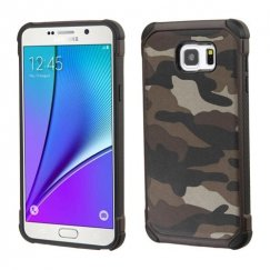 Samsung Galaxy Note 5 Camouflage Gray Backing/Black Astronoot Case