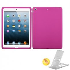AppleiPad iPad Air 1st Gen Solid Skin Cover - Hot Pink