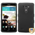 LG G3 Rubberized Black/Black Hybrid Case
