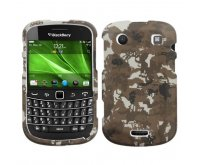 Blackberry 9900 Bold Lizzo Digital Camo/Yellow Phone Protector Cover
