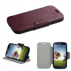 Samsung Galaxy S4 Brown/Black Mixy Wallet