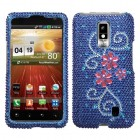LG Spectrum Juicy Flower Diamante Protector Cover
