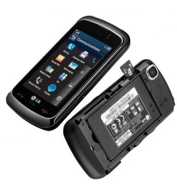 LG GT550 Encore Bluetooth Camera 3G Touch Phone ATT