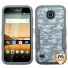 Huawei Union Y538 Universal Camouflage/Iron Gray Hybrid Phone Protector Cover