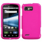 Motorola Atrix 2 Solid Shocking Pink Case