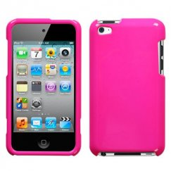 Apple iPod Touch (4th Generation) Solid Shocking Pink Case