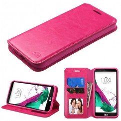 LG G5 Hot Pink Wallet with Tray