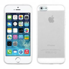 Apple iPhone 5/5s Glossy Transparent Clear Candy Skin Cover