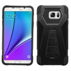 Samsung Galaxy Note 5 Black Inverse Advanced Armor Stand Case