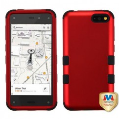 Amazon Amazon Fire Phone Titanium Red/Black Hybrid Case