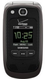 Samsung Convoy 2 SCH-U660 Rugged MIL-SPEC Flip Phone for Verizon - Brown