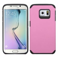 Samsung Galaxy S6 Edge Pink/Black Astronoot Case
