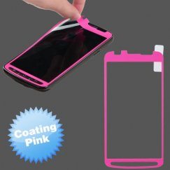 Samsung Galaxy S4 Active SGH-i537 Coating Screen Protector/ Pink