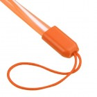 (5PCS)Orange TPU Lanyard (17.75inch)