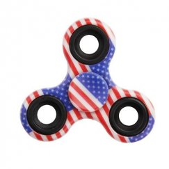 United States National Flag Triangle Spinner