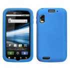Motorola Atrix 4G Solid Skin Cover (Dark Blue)