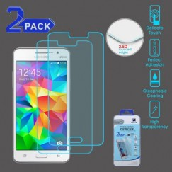 Samsung Galaxy Grand Prime Tempered Glass Screen Protector - 2-pack