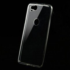 Google Pixel 2 Glossy Transparent Clear Candy Skin Cover