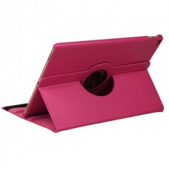 AppleiPad iPad Pro 12.9 2015 Hot Pink Premium Rotatable Wallet