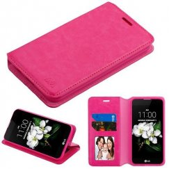 Hot Pink Wallet(with Tray) -WP