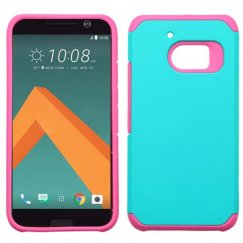 HTC 10 Teal Green/Hot Pink Astronoot Case