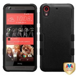 HTC Desire 626 Natural Black/Black Hybrid Case