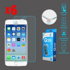 Apple iPhone 6/6s Tempered Glass Screen Protector - 6-pack