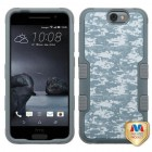 HTC One A9 Universal Camouflage/Iron Gray Hybrid Case