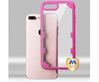 Transparent Clear/Hot Pink FreeStyle Challenger Hybrid Protector Cover