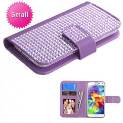Universal Purple Diamonds Wallet
