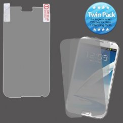 Samsung Galaxy Note 2 Screen Protector Twin Pack