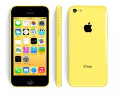 Apple iPhone 5c 8GB iOS Smartphone for Cricket Wireless - Yellow