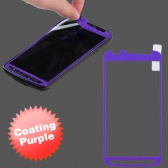 Samsung Galaxy S4 Active SGH-i537 Coating Screen Protector/ Purple
