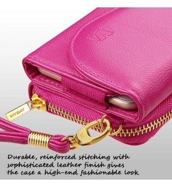 Universal Hot Pink Posh Wallet
