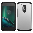 Motorola Moto G4 Play Silver/Black Astronoot Phone Protector Cover