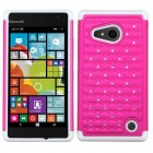 Nokia Lumia 735 Hot Pink/Solid White FullStar Case