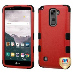 LG LG G Stylo 2 Plus Natural Red/Black Hybrid Case