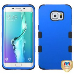 Samsung Galaxy S6 Edge Plus Titanium Dark Blue/Black Hybrid Case