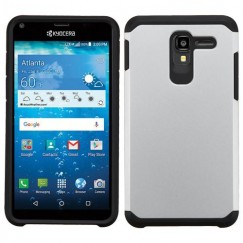 Kyocera Hydro Reach / Hydro View Silver/Black Astronoot Case
