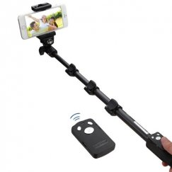 Monopod with Built-in Wireless Remote Control